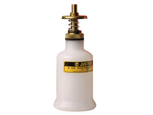Polyethylene Dispensing Can with Brass Head, 4 ounce