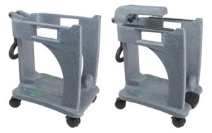 Basic 9 Gallon Recykleen Foot Operated T Rolley