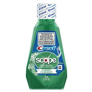 Scope Mouthwash, Classic Original Mint, 36ml, 180 per case