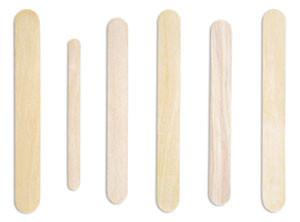 """Senior Blade Tongue Depressor, 6"""", Non-Sterile, Individually Wrapped, 250 per box, 10 boxes per case"""
