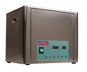 Ultrasonic Cleaner with Heat, 10 Liter, Capacity: 10L/2.64 Gal, Includes Stainless Steel Hanging Basket