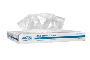 """Chair Sleeves, 1/2 Size, 27-1/2"""" x 24"""", 225 per box, 3 boxes per case"""