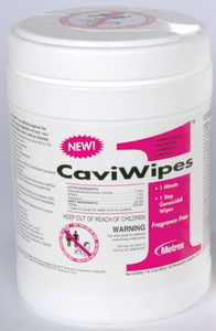 "CaviWipes1, 6"" x 6-3/4"", 160 ct per canister, 12 canisters per case"