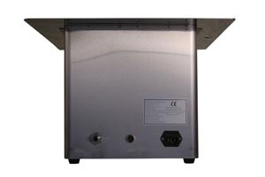 Recessed Ultrasonic Cleaner with Heat, 10 Liter, Capacity: 10L/2.64 Gal, Includes Stainless Steel Hanging Basket