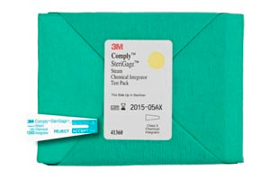 3M Integrator Test pack with Steam Chemical Integrator, 16 per box, 4 boxes per case