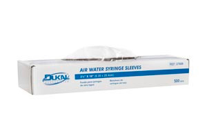 """Air/ Water Syringe Sleeves, 2-1/2"""" x 10"""", 500 per box, 36 boxes per case"""