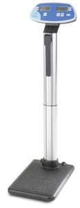 "Digital Beam Scale, Height Rod, 500 lbs/ 200 kg, Platform: 15"" x 13"" x 2"""