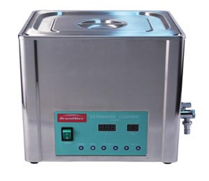 Ultrasonic Cleaner with Heat, 20 Liter, Capacity: 20L/5.28 Gal, Includes Stainless Steel Hanging Basket