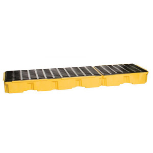 Eagle Modular Spill Platforms, 3 Drum, Without Drain, Yellow