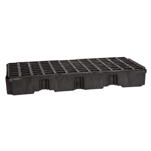 Eagle Modular Spill Platforms, 2 Drum, With Drain, Black