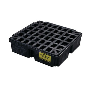 Eagle Modular Spill Platforms, 1 Drum, With Drain, Black