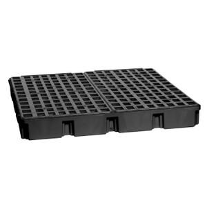 Eagle Modular Spill Platforms, 4 Drum, With Drain, Black