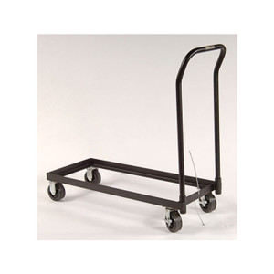 Eagle Rolling Cart For Relocating Cabinet, Poly Caster Wheels, Fits 30-Gal. Or Piggyback Safety Cabinets