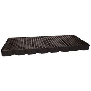Eagle Modular Spill Platforms, 8 Drum, Without Drain, Black