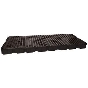 Eagle Modular Spill Platforms, 8 Drum, With Drain, Black