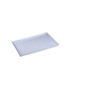 Polyethylene Tray For Shelf Number 29951 Or 19 Gallon Under Fume Hood Safety Cabinet