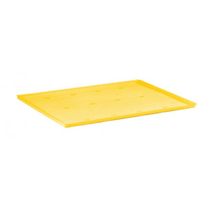 Yellow Polyethylene Tray And Sump For Shelf #29936 And 12, 15 Gallon Compac, 22 Gallon Slimline Safety Cabinets