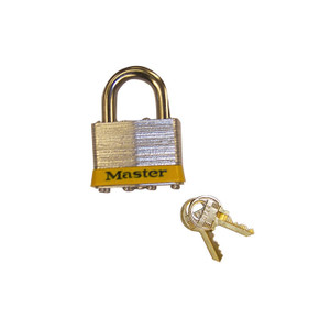 "Padlock Master Lock No. 5 With 3/8"" Shackle For Lockable Safety Cabinets"