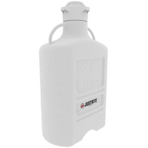 Carboy, 40 L, High Density Polyethylene (HDPE), 120mm Cap