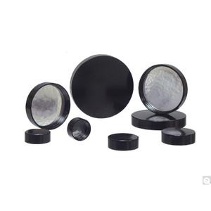 13-425 Black Ribbed Phenolic Cap with Pulp/Aluminum Foil Liner, case/16600