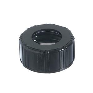 18-400 Black Phenolic Unlined Hole Cap, case/7500