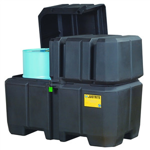 Justrite® 2-Drum Containment & Collection Station