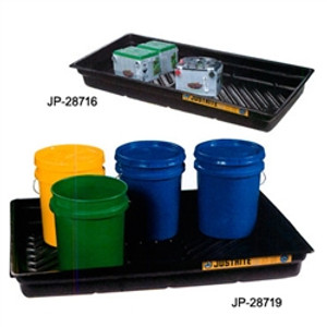 Justrite® Secondary Containment Tray, 38 x 26 x 5.5""