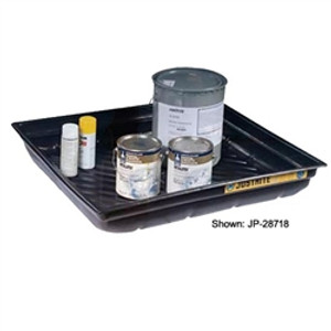 "Justrite® Secondary Containment Tray, 37.75"" x 34 x 5.5"""