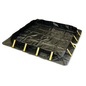 Talon SX Berm, 10' x 10' x 1', 748 Gallon Spill Capacity, Black