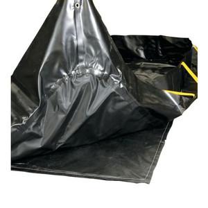 Talon Ground Tarp For Berm, Fits 14' X 54' Berm, Black