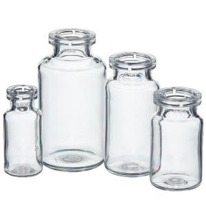 Nalgene® PETG Serum, Vials with Crimp Finish, Sterile, Shrink-Wrapped Modules, 10mL, case/1260