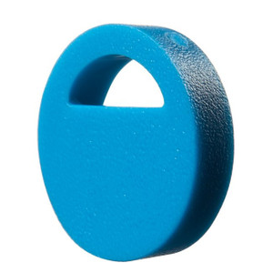 Nalgene® Cryogenic Tube Accessories, PS Color Coder Dots, Blue, case/500
