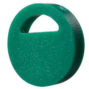 Nalgene® Cryogenic Tube Accessories, PS Color Coder Dots, Green, case/500
