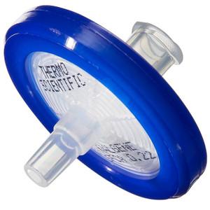 Nalgene® 25mm Syringe Filters, PTFE, 0.45um, Nonsterile, 50 per pack, case/500