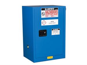 Justrite® EX Compac HazMat Safety Cabinet, 12 Gal, Self-close Door