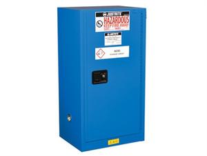 Justrite® EX Compac HazMat Safety Cabinet, 15 Gal, Self-close Door