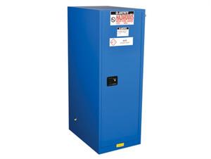 Justrite® Deep Slimline HazMat Safety Cabinet, Self-Closing Door, 54 Gal