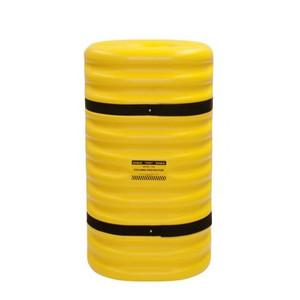 "Fits 9"" Columns, Column Protector, Yellow"