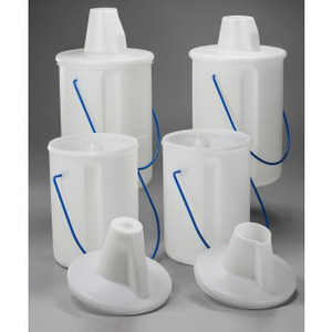 Solvent Bottle Carrier for 2 Liter Bottle, Truncated Top