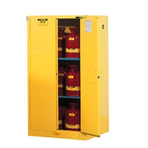 Justrite® Flammable Safety Cabinet, 60 gallon, Self-Closing