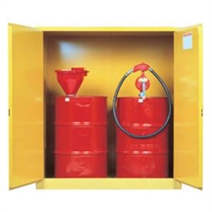 Justrite® Flammable 2-Drum Cabinet, 2-Drum, Self-Closing
