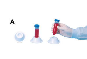 50mL Conical Test Tube Holder holds single tube, case/5