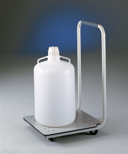 Lab Cart, Carboy Caddy Mobile Cart for Heavy Containers