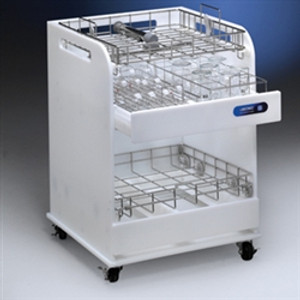 Lab Cart, Glassware and Rack Cart-ScrubberMate