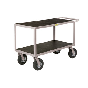 Flat-Handle Instrument Cart, Non-Slip, 24 x 48