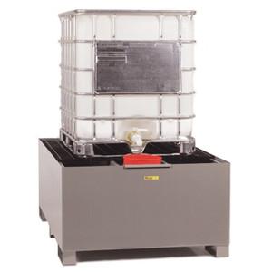Spill Control Platform, Single IBC Unit, 400 gal cap