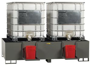 Spill Control Platform, Double IBC Unit, 400 gal cap