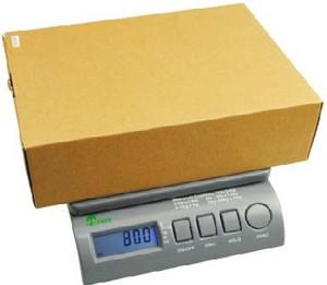 Small Postal Scale, Accurate to 75 lbs-0.5 oz Accuracy