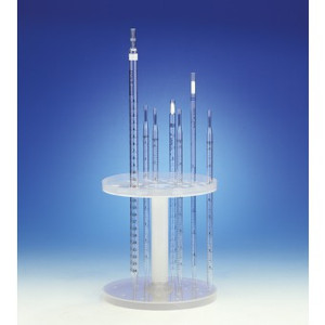 Pipette Support Stand, Vertical Holds 28 Pipettes, case/12