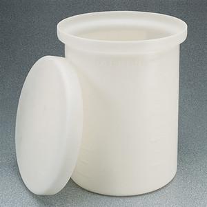Nalgene® Cylindrical Tank with Cover, Polypropylene, 10 gallon
